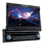 DVD Player Automotivo SP6110 AV c Tela 7 Entrada Auxiliar Frontal e USB POSITRON